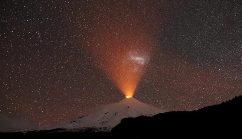 volcan estrellado